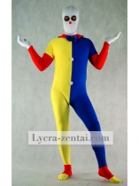 Spandex Fullbody Clown Zentai Suit