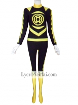 Lantern Corps - Custom Design Yellow Lantern Superhero Costume