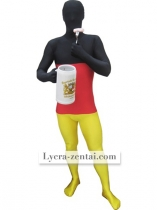 German Flag Pattern Spandex Lycra Zentai Suit