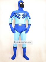 Blue Beetle Lycra Spandex Superhero Costume