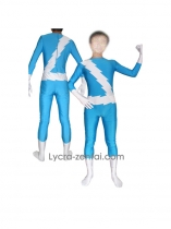 Quicksilver Spandex Superhero Costume