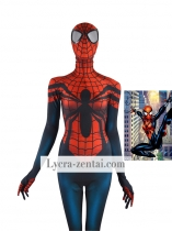 Red Blue Spider-Girl Costume Mayday Parker Morph Suit