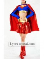 Cool Superwoman Zentai Suit