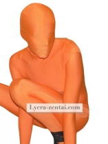 Orange Fullbody Zentai Suit