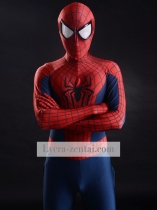 Navy Blue & Red 3D Printing The Amazing Spider-man 2 Costume