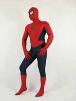 Blue And Red Lycra Spandex Spider Man Zentai Suit
