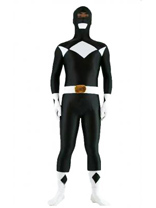 Black Spandex Power Ranger Costume
