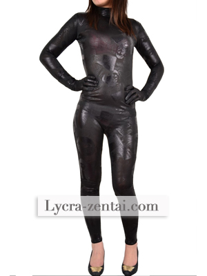 New Design Black visions Zentai Costume