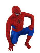 Red and Blue Spiderman Lycra Spandex Superhero Zentai