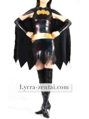 Batgirl Super Hero Zentai Costume