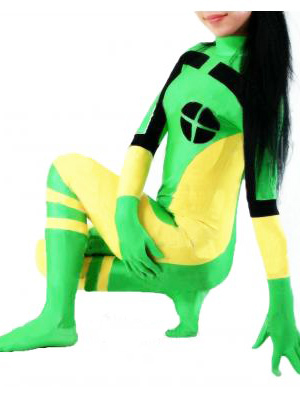 X-men Rogue Superhero Costume