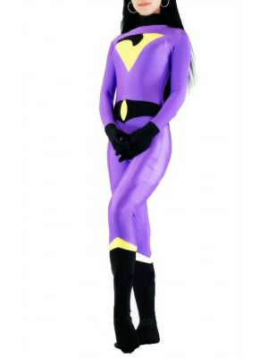 Mr Mystère Super-héro Costume Violet