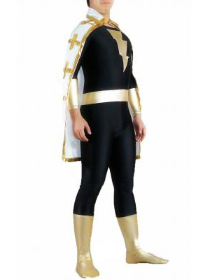 Captain Marvel Costume-Black Gold Captain Marvel Costume